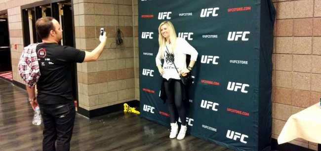Como é assistir ao UFC em Las Vegas - Anderson Silva vs Nick Diaz 4