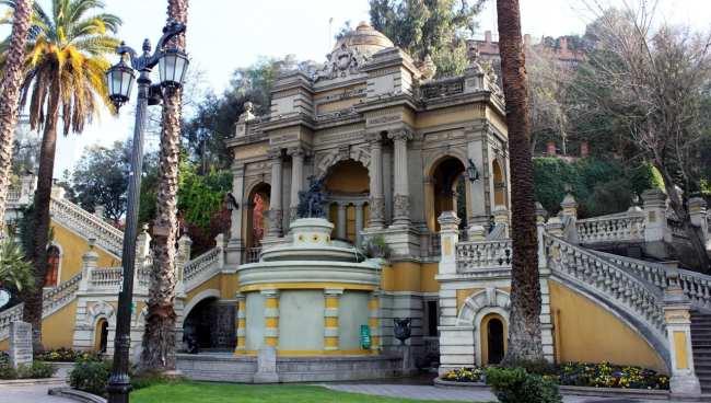Como se locomover em Santiago - parques 2
