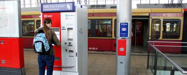 Dicas para viajar de trem na Alemanha - Comprando o ticket nas máquinas