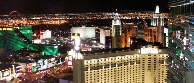 De onde ver Las Vegas do alto - Suite Aria