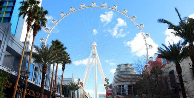 De onde ver Las Vegas do alto - High Roller The Linq 5