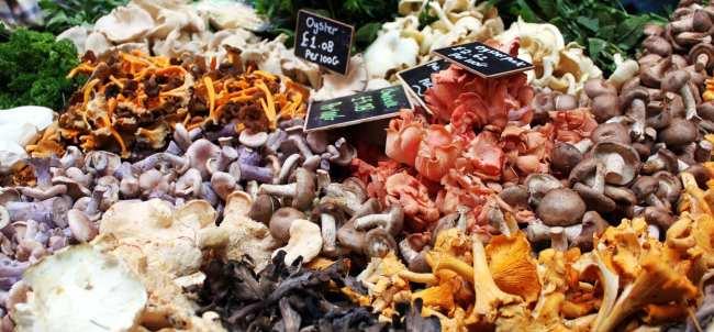 Onde comer barato em Londres - Borough Market