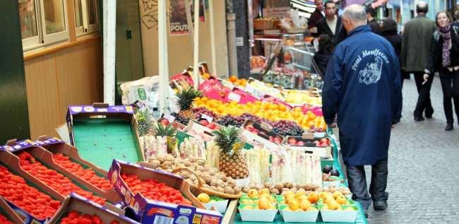 Programas gourmet em Paris - Mercados 1