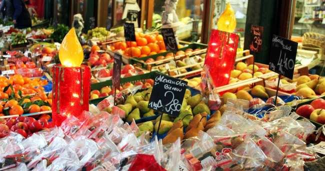 Onde comer em Viena - Mercado Naschmarkt