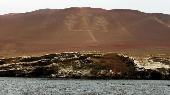 Peru: Ilhas Ballestas e Reserva Nacional de Paracas - Candelabro