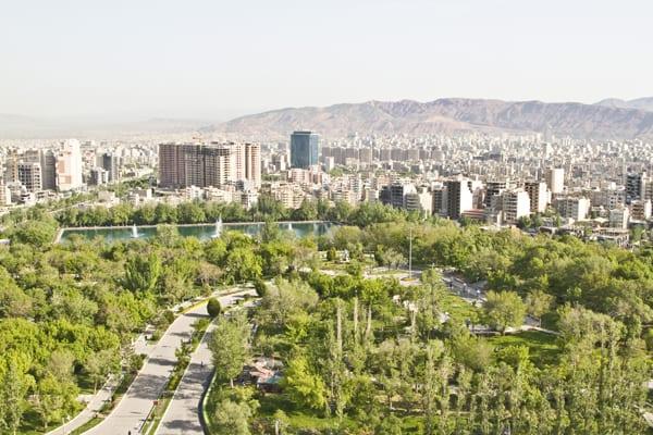 Vista hotel Tabriz 600