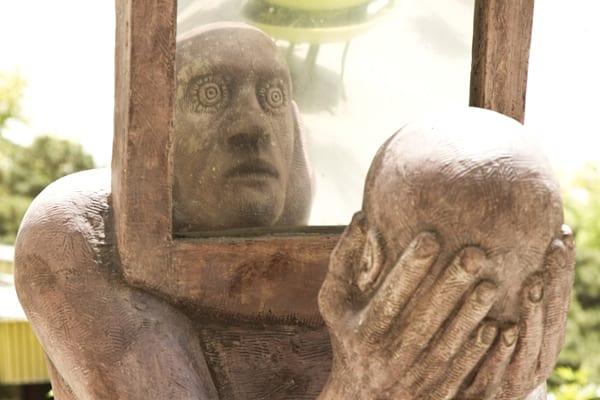 29 escultura espelho