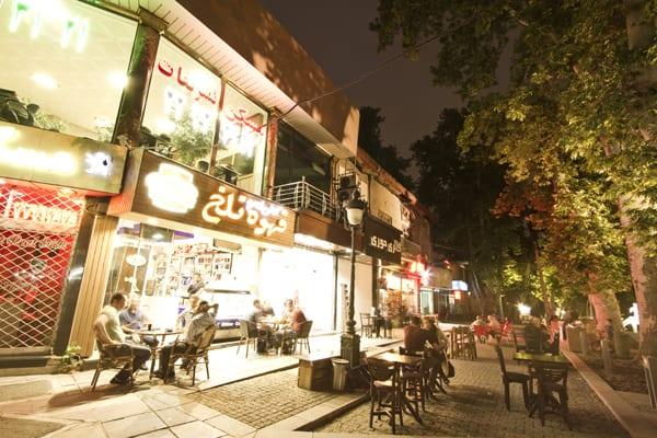 43 cafes noite