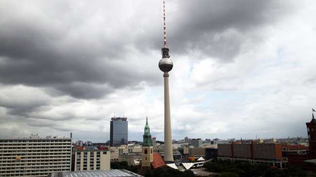 Atrações de Berlim - Torre da TV