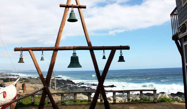 Casa de Pablo Neruda em Isla Negra no Chile - 5