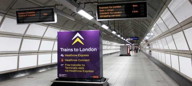 Como ir do aeroporto ao centro de Londres - Heathrow Express 3