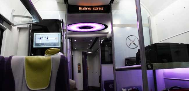 Como ir do aeroporto ao centro de Londres - Heathrow Express 5
