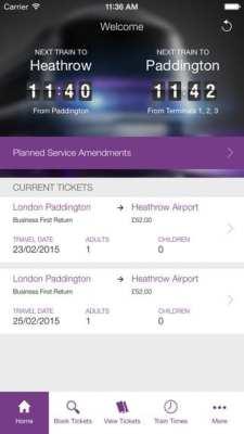 Como ir do aeroporto ao centro de Londres - Heathrow Express 9