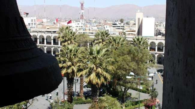Onde ficar em Arequipa - Plaza de Armas 2