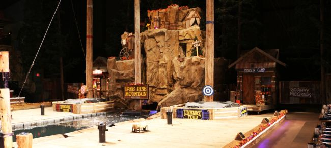 Great Smoky Mountain - Lumberjack feud 1