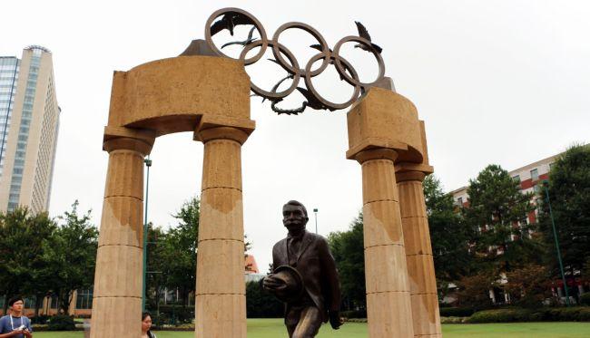 Roteiro de viagem de Atlanta - Centenial Olympic Park monumento