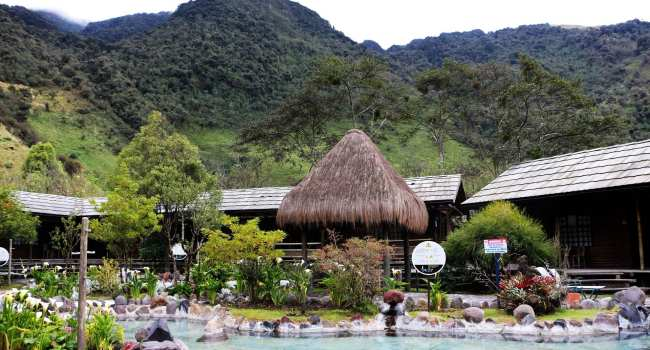 Termas de Papallacta no Equador - 1