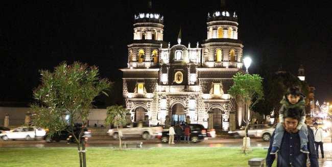 Cajamarca, norte do Peru - igreja de são francisco