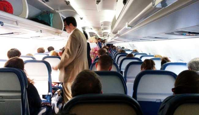 Como é voar de Delta Airlines - 10