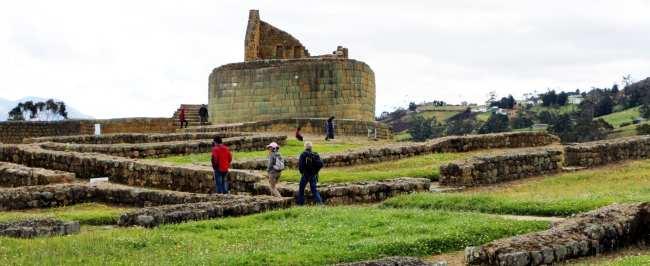 Ruína Inca no Equador - Ingarapirca 6