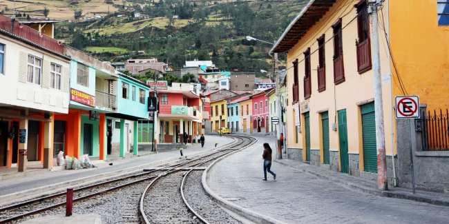 Trem Nariz del Diablo (rota nariz do diabo) Equador - 2