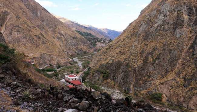 Trem Nariz del Diablo (rota nariz do diabo) Equador - 14
