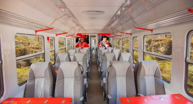 Inca rail trem para machu picchu - premium economy