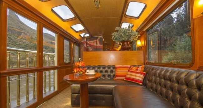 Inca rail trem para machu picchu - classe presidencial