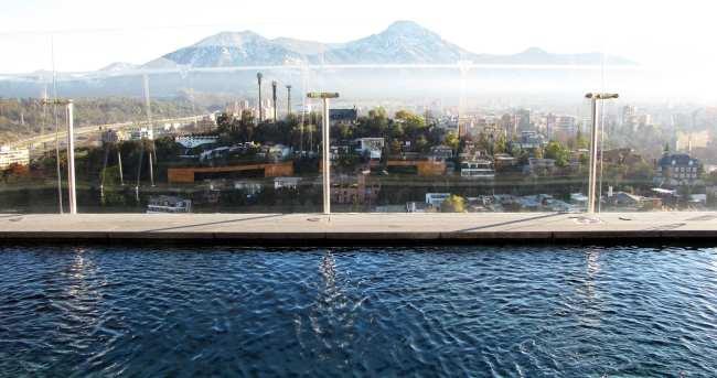 Onde ficar em Santiago - hotel W 1