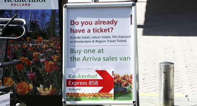 Como ir ao Keukenhof na holanda - jardim de tulipas perto de Amsterdã - 02