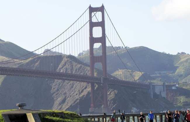 Roteiro por São Francisco - golden gate bridge 1