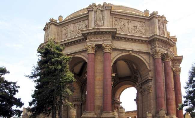 Roteiro por São Francisco - Palace of Fine Arts 3