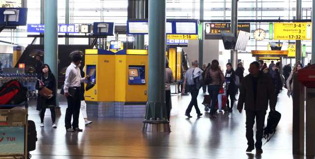 Amsterdam - como ir do aeroporto ao centro da cidade - 8