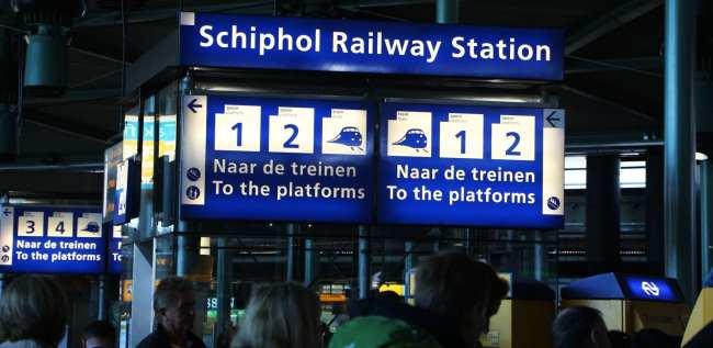 Amsterdam - como ir do aeroporto ao centro da cidade - 13