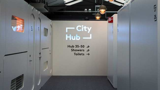 Hotel em Amsterdam - CityHub hotel capsula 9