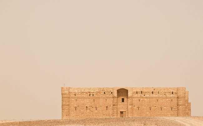 Castelo Kharaneh, castelos do deserto - Jordânia