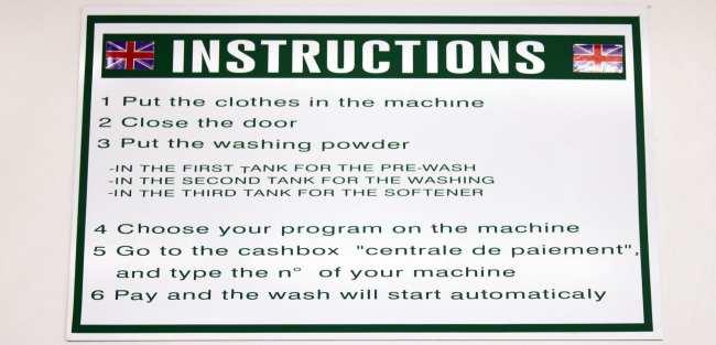 Como lavar roupa na Europa: lavandera - 04