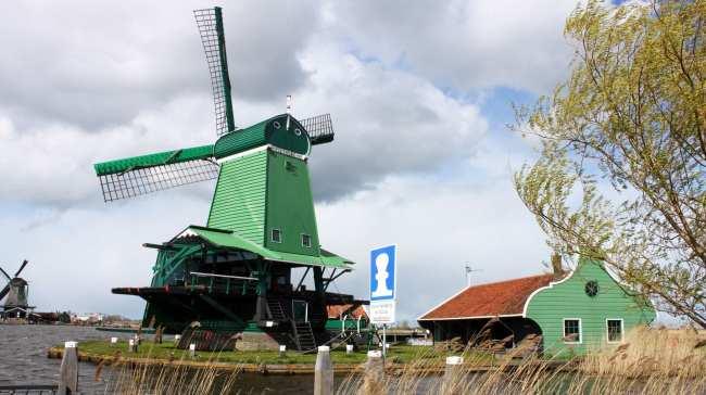Bate e volta de Amsterdam: Zaanse Schans - 09