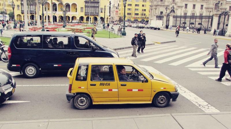 Como negociar táxis em Lima e no Peru - 05
