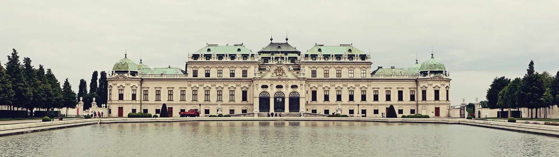 Palácio Belvedere em Viena - O Beijo de Klimt - 03