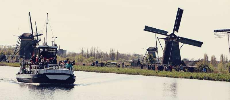 Como chegar em Kinderdijk - os primeiros moinhos da Holanda - 01