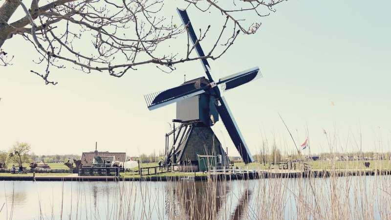 Como chegar em Kinderdijk - os primeiros moinhos da Holanda - 08