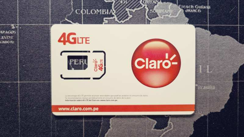 Como comprar chip com internet no Peru para celular e tablet - 01