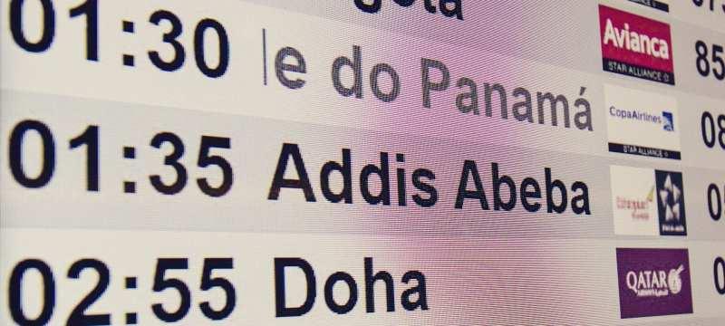 Como é voar de Ethiopian Airlines - 03