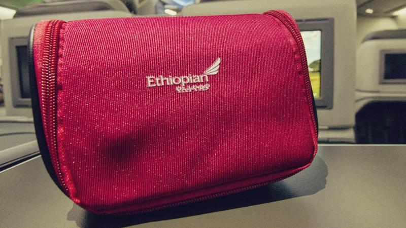 Como é voar de Ethiopian Airlines - 18