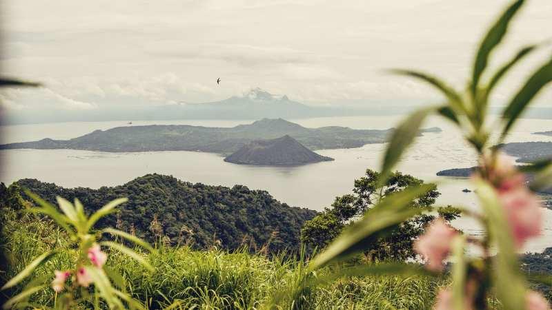 Filipinas, vulcão Taal