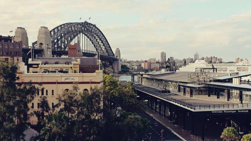 De onde ber a baía de Sydney do alto - 09