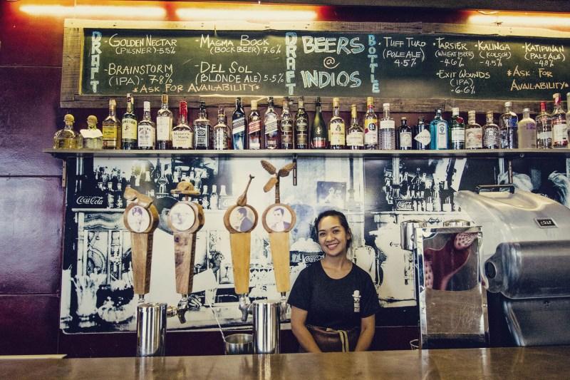 Cervejaria Los Indios Bravos, em Boracay