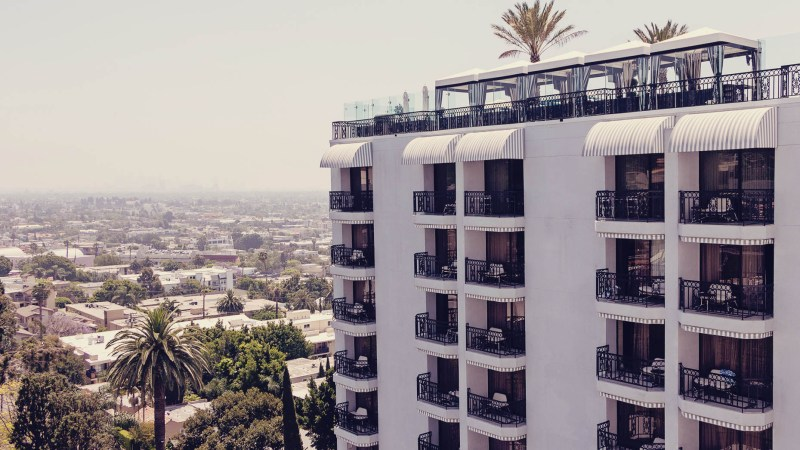 The London West Hollywood at Beverly Hills - predio