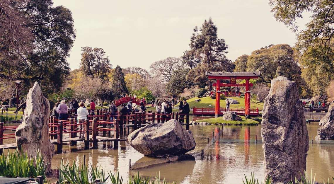 O que fazer em Buenos Aires gastando pouco - Jardim Japones